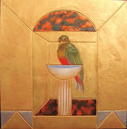 Bird and Bath